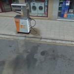 gasolinera de Haro en Avda. La Rioja, detalle de surtidor nº 2