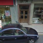 Gasolinera de Haro, en Avda. La Rioja, detalle de surtidor nº 1, paso necesario
