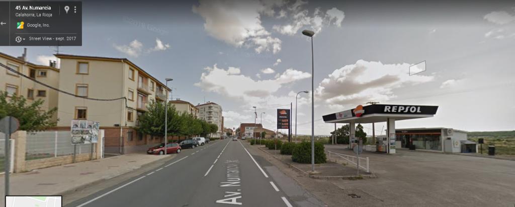 estación de servicio Repsol en Calahorra, La Planilla
