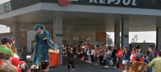 Solicitud – No más desfiles por la gasolinera de Avda. La Rioja, si no se toman medidas